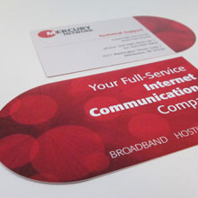 Mercury Network Business Card