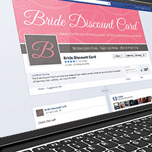 Bride Discount Card