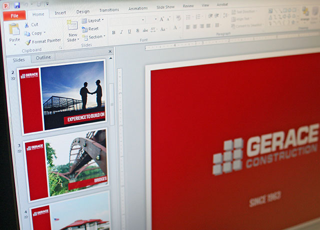 Gerace Construction PowerPoint Template