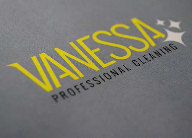 Vanessa Professional Cleaning Logo