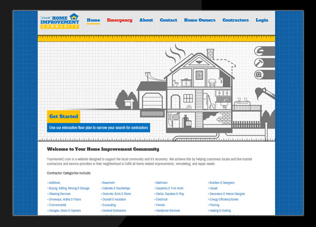 Your Home Improvement Community Website